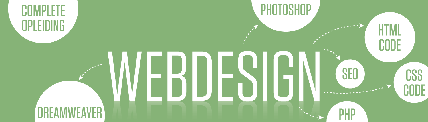 Webdesigner Opleiding in Amsterdam, Photoshop, HTML code, CSS code, stylesheets en SEO